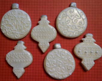 Sparkly Christmas Ornaments