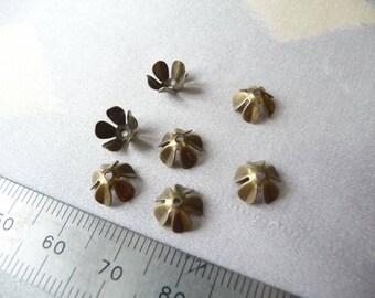 Set of 7 cups 8 mm bronze