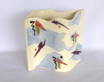 UNIQUE Handmade MOD VASE/ Mid Century Modern Vase