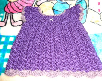 New Crochet Summer Baby Girl Dress