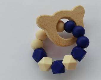 Bear Baby Teething Ring | Teething Toy