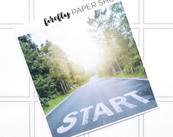 Fresh Start Double Box (for Erin Condren Life Planner - Vertical)