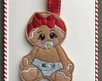 NNC ITH Gingerbread Baby