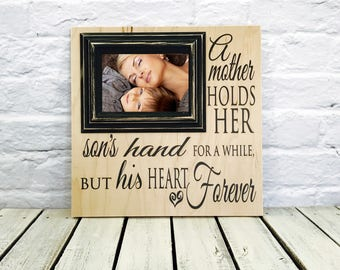 mother of the groom, wedding gift, gift from son, mother of the bride, gift for mom, mother of groom gift, wedding, gift from groom, wood