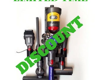 Dyson V8 V10 Accessory Holders   Choose 4, 5, or 6 accessories   Dyson Attachments Dyson Wall Mount Dyson V8 Mount Dyson Trigger Dyson Parts