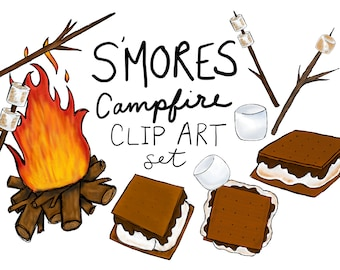 s mores etsy rh etsy com smore clipart image cute s'more clipart