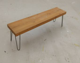 Douglas fir bench