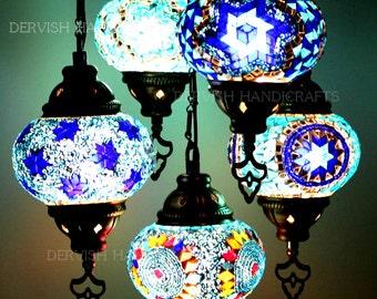 Turkish lamp etsy turkish lamp lampshade moon lamp fairy lights chandelier lighting fairy lights aloadofball Choice Image