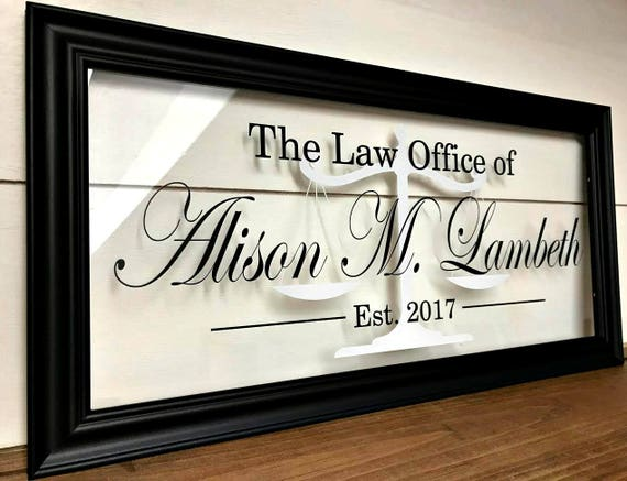 Gifts For Attorneys Lawyer Gift Law Office Decor Gifts For