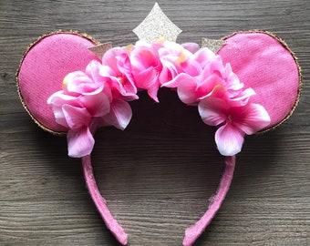 Princess Aurora Inspired Mickey Ears