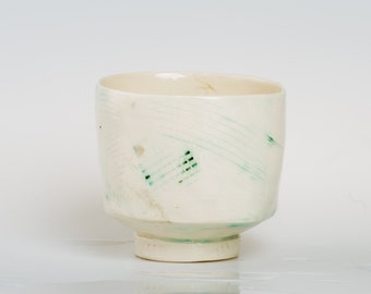 CLARA - Porcelain bowl, unique, handmade, OOAK