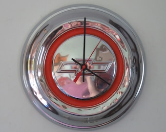 1967 Chevy Truck Hubcap Clock - Item 2619