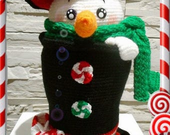 Doug ice in french and Dutch tutorial to make the character Tweety dolls crochet