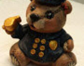 Small Policeman Bear