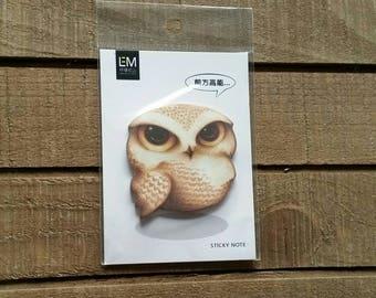 Owl Sticky Notes