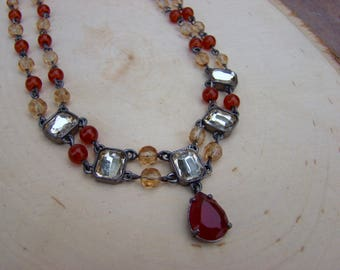 Beaded Glam Necklace