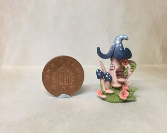 Ooak handmade miniature whimsical teapot house