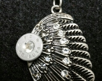 45 Angel Wing Pendant