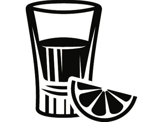 shot glass 1 mixed drink alcohol liquor ice bar pub tavern rh etsy com Shot Glass Silhouette Clip Art red shot glass clipart