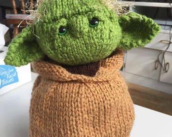 Star Wars Yoda Teacosy hand knitted