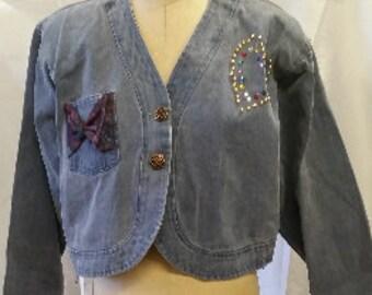 JU-JU-BE Vintage Denim Jacket