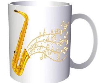 International Jazz Festival Saxophone 11oz Mug a951