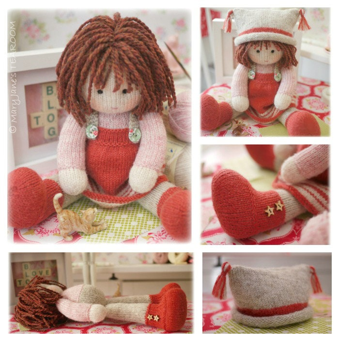 Chrystal Toy Doll Knitting Pattern Knitted Doll Plus Free Pdf