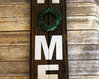 Home Sign for Outdoors Deck or Porch