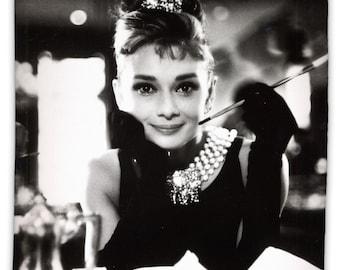 "Audrey Hepburn Breakfast at Tiffany's - 69"" x 70"" Shower Curtain"