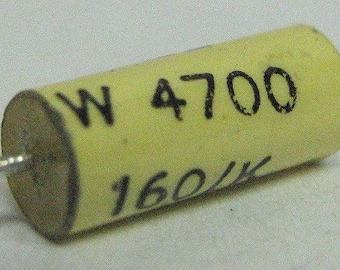 Capacitor 4.7nF 10% 160V, polyester