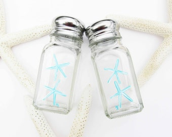 Beach Starfish Large Salt and Pepper Shakers | FREE SHIPPING