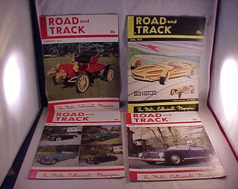 1951 Road and Track Magazines
