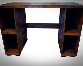 Desk 2,Rustic Style, Reclaimed Wood, Wood Office Furniture,Solid Wooden Storage,Bespoke, Handmade from pallet wood. Shabby chic