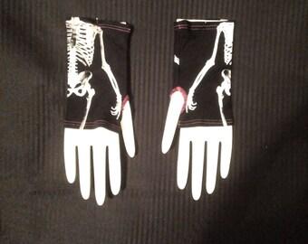 Skeleton Wristwarmer - Pair