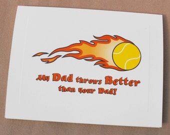 Father's Day Card for Dog Dad from the Dog, Funny Dog Dad Card from Fur Baby