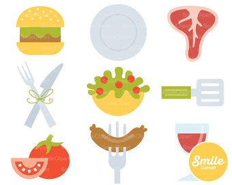 Barbecue Clipart Illustration for Commercial Use | 0114