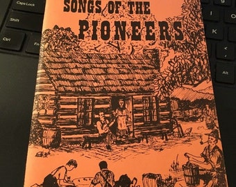 Albert E Brumley's SONGS Of THE PIONEERS Softcover little songbook 1970