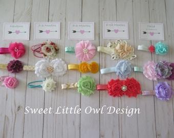 DIY Baby Girl Headband Kit for showers, parties, birthdays