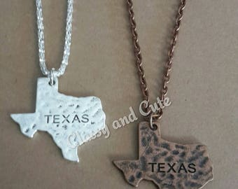 Texas Necklace or Earrings