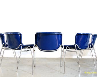 Vintage design Dining room tub chairs/Artifort/1970s/dining chairs
