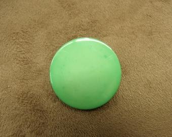 ROUND button - 26 mm - Green