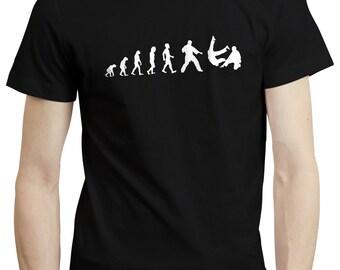 Evolution Judo Martial Arts Training Karate Funny Gift Mens T shirt Tshirt Tee