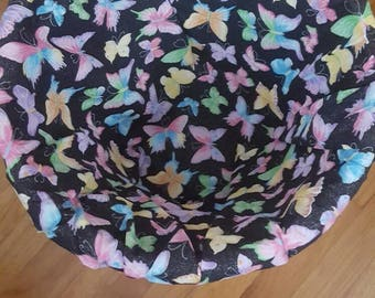 Butterfly laundry basket