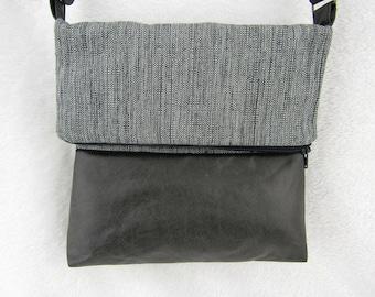 hand bag. shoulder bag. leather goods. Mini origami