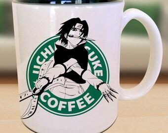 Chidori Genin Ninja Anime Nerd Coffee Sasuke Mug Gift Parody Idea