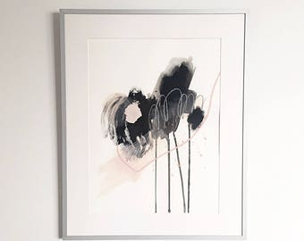 Contemporary painting / abstract art / wall art / original artwork / acrylic / modern art / framed / home decor / mixed media artwork