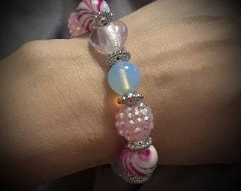 Hearts bracelet.