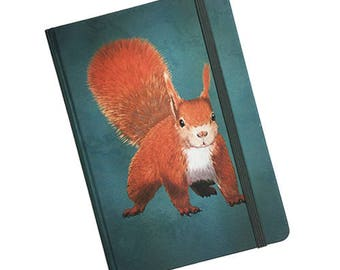 Journal with illustration of the Squirrel