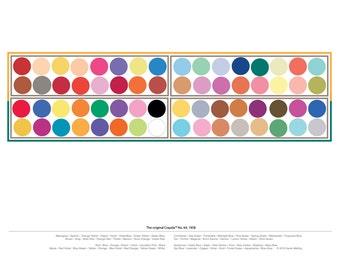 Art print, digital - Crayola™ Crayons  box of 64: the original colors