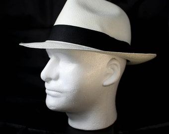 "Panama HAT "" Genuine Ecuador "" - 100% handmade with TOQUILLA STRAW"